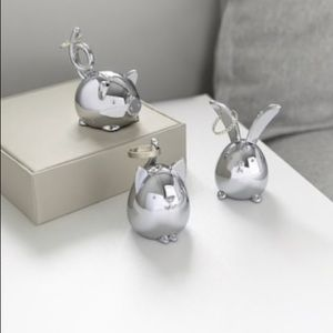 NWT - Cute Animal Ring Holders/Decor (set of 3)